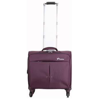 15 inch business luggage Trolley rolling briefcase pilot case laptop carrying case for sale