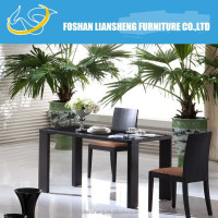 Dining table / walnut solid wood dining room furniture