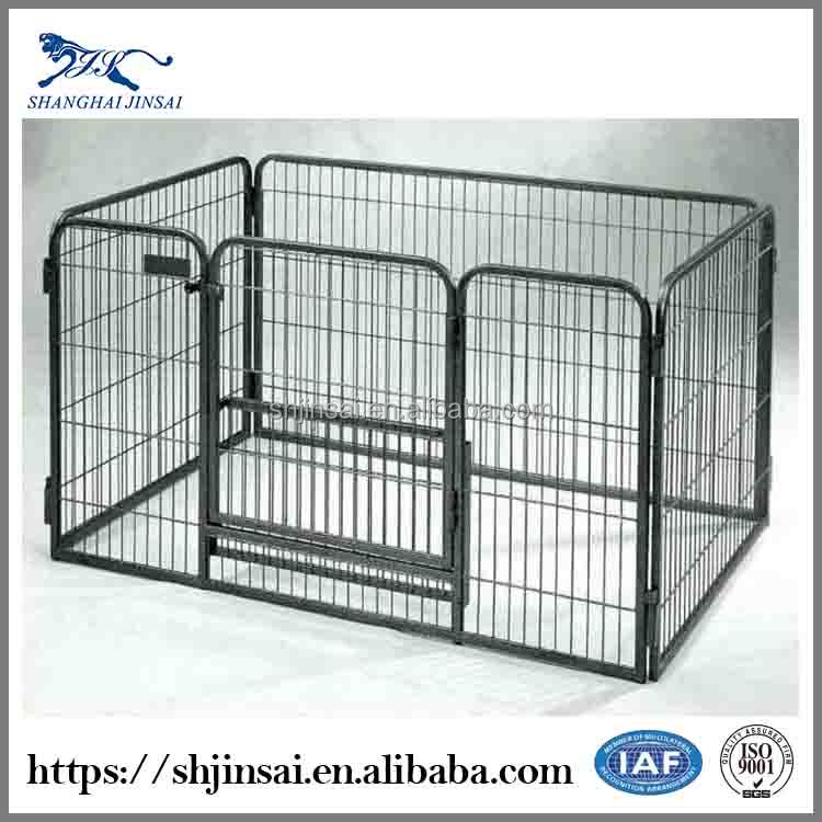 ISO9001 Approved Poultry Cage Iron Fence Dog Kennel