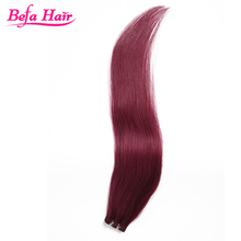 100% indian remy wavy red hair,real red human hair weaving,indian remy red hair extension