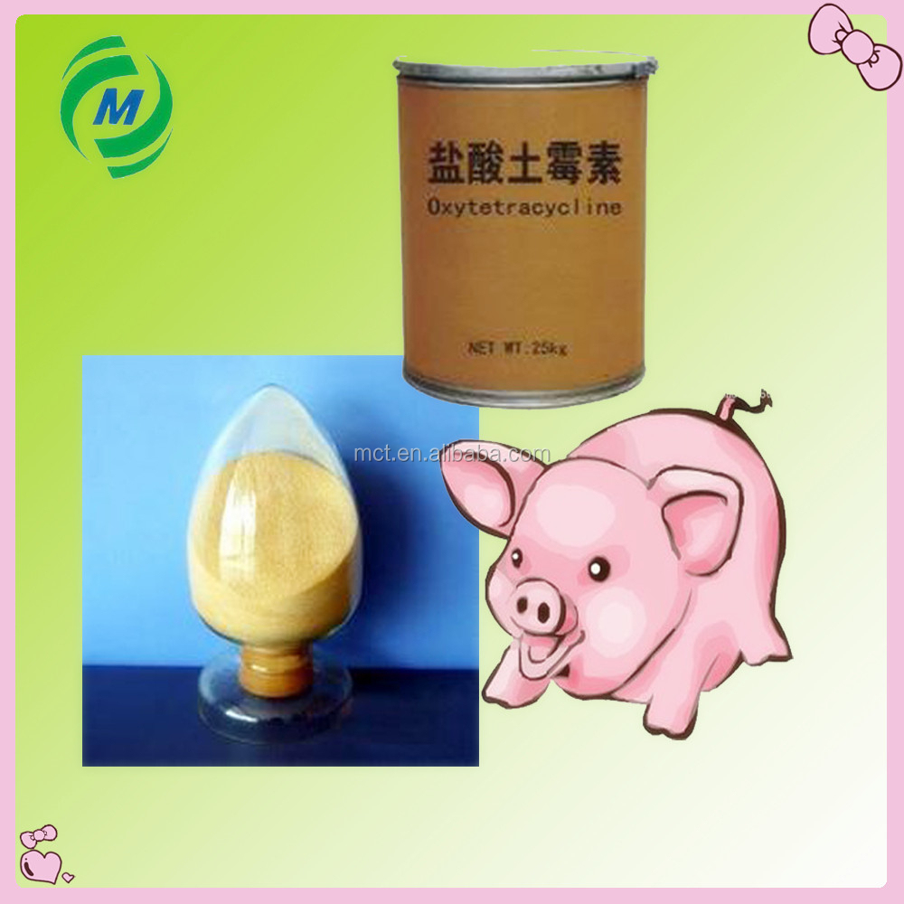 Provide raw material Oxytetracycline powder for livestock feed grade