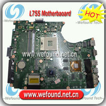 A000080820,Laptop Motherboard for Toshiba L755 Series ,Mainboard,System Board