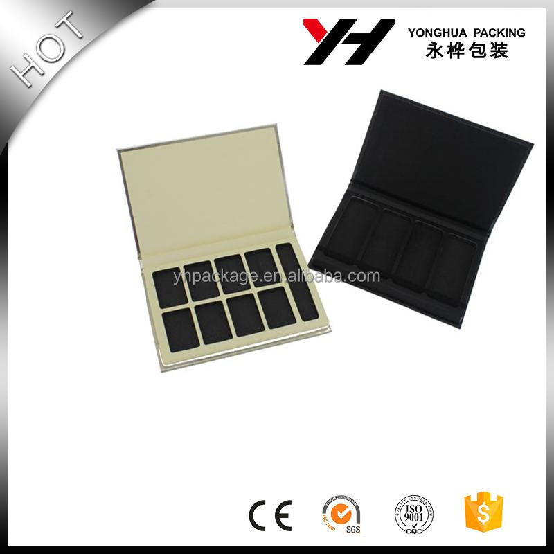 customized eyeshadow palette box, eyeshadow palette cardboard eyeshadow palette for powdwe <strong>ued</strong>