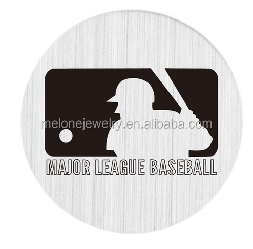 New Arrival Stainless Steel Floating Charms Major League Baseball Window Plates For Living Floating Lockets Necklace