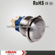 CE ROHS metal wire cable pushbutton switch