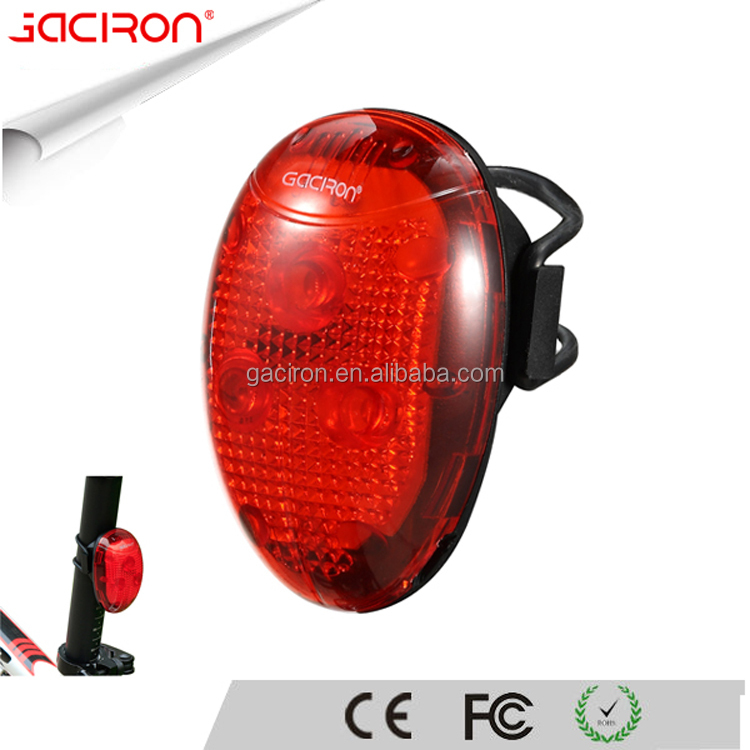 Gaciron Best Bicycle Accessories Waterproof Smart Bike Led Flashing Rear Light