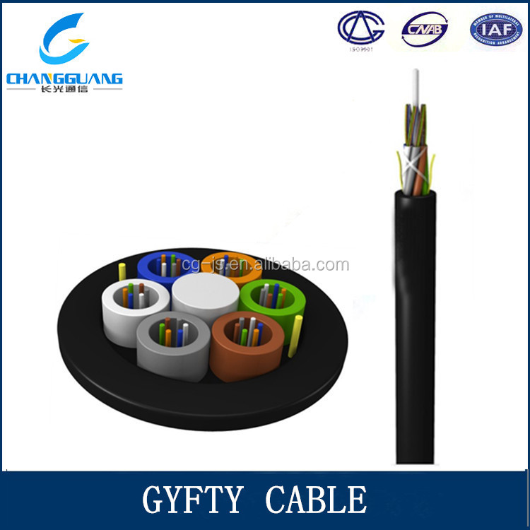 Life span over 30 years non-armored GYFTY rg45 cable