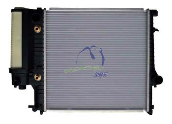 Aluminum Auto Radiator compatible with BMW OEM 1723528