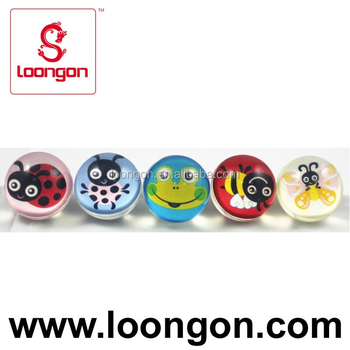 Loongon clear bouncing ball 32mm customized