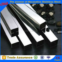 Welded Stainless Steel Rectangular/Square pipe Hollow Section Price