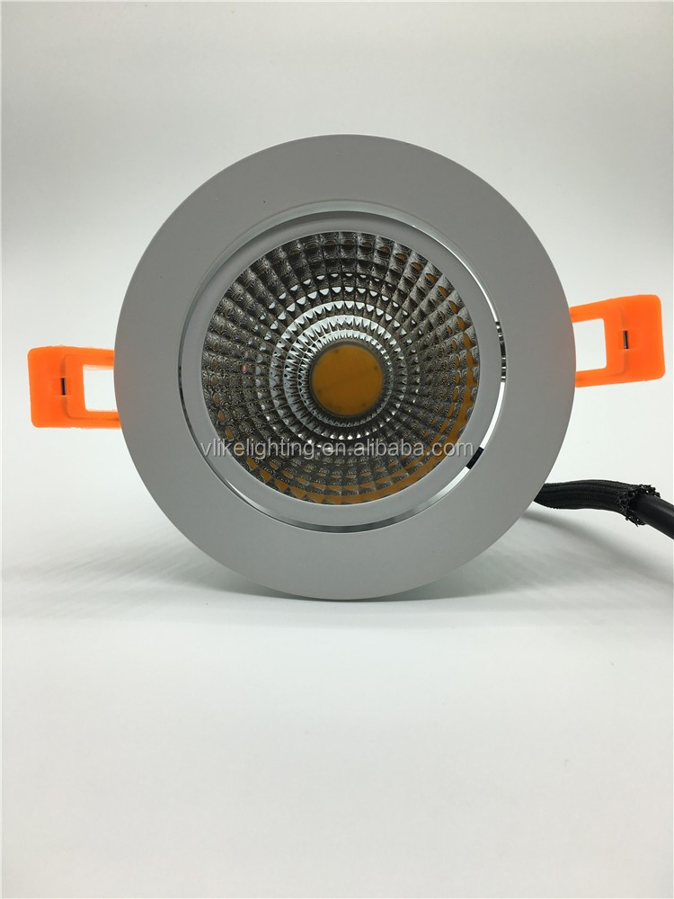 5Years Warranty AC110-240V Dimmable Driverless led cob downlight