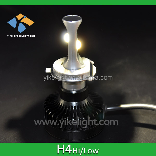 2015 hot h4 hid led headlight bulbs for car and motorcycle