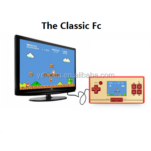 Classic FC pocket 2.6 inch Console FC pocket console game
