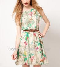 2013 women fashion tropical dresses