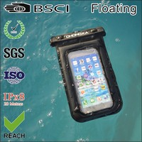 Floating waterproof Case for iphone 5 with earphone