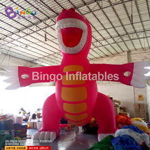 Hot sale inflatable rose red dinosaur/ inflatable dragon for sale