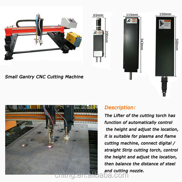 200mm Lifting /Torch Lifter for Plasma Cutting Machine Fast Cutting