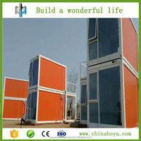 Steel frame two storey container site office building