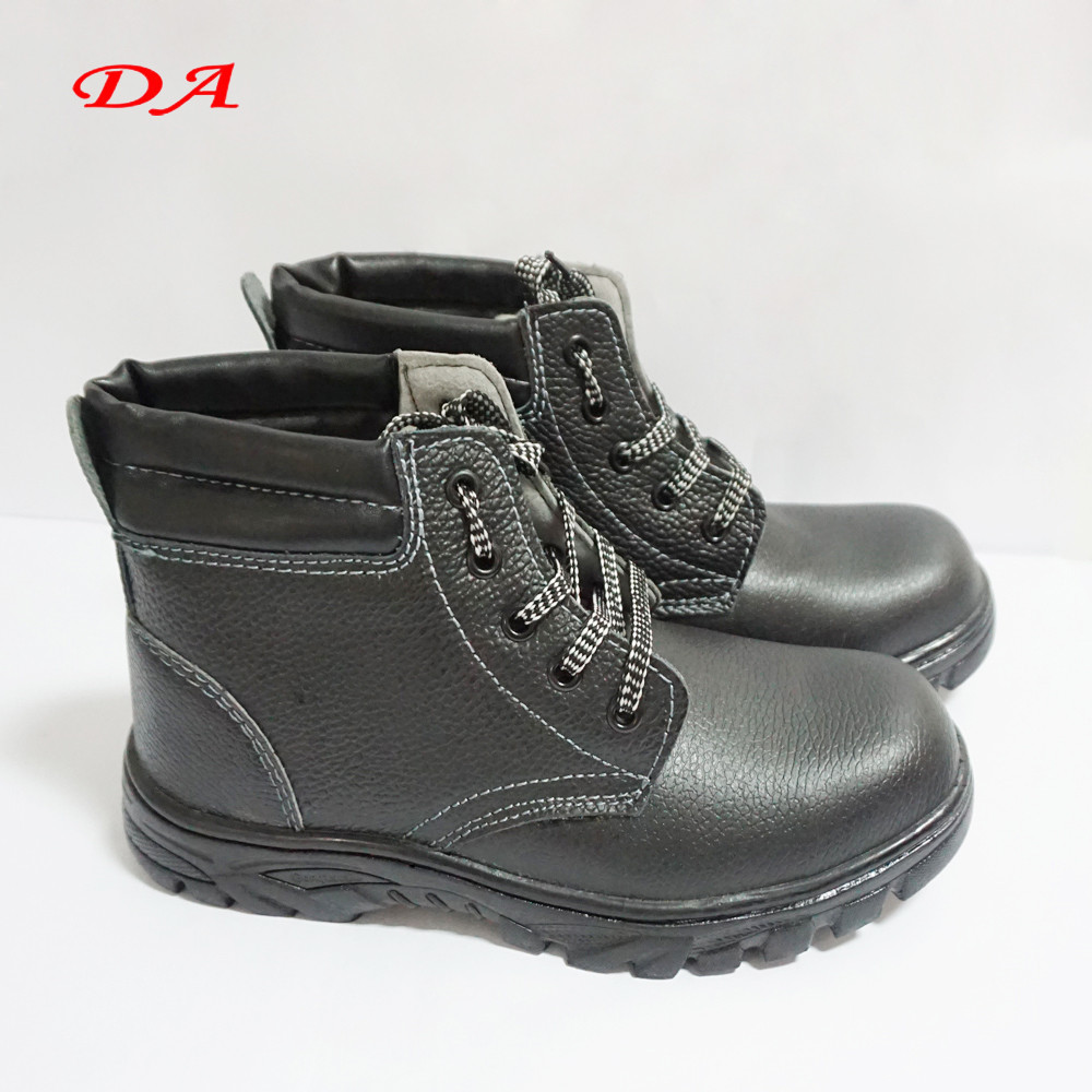 Winter Artificial Wool Embossed Leather Security Guard Shoes