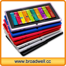 Best selling Quad Core Android 4.4 Cheapest 7 inch tablet Q8