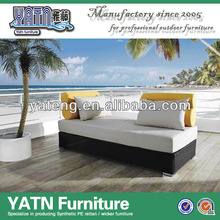 Pool furniture outdoor moon lounge bed