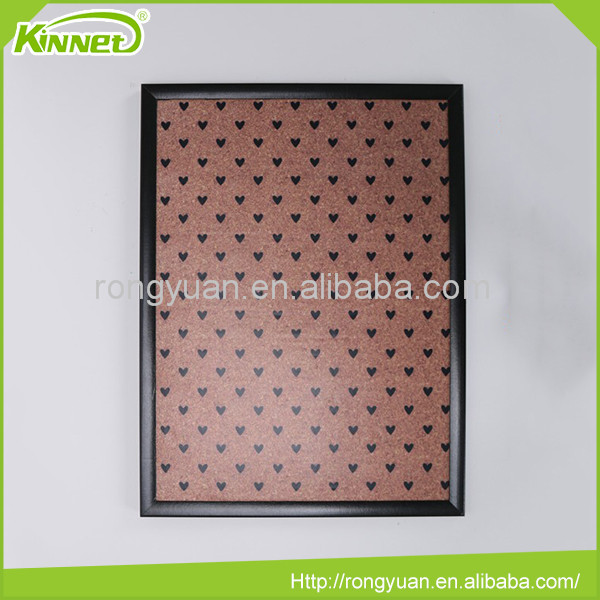 45X60CM Wooden frame push pin useful standard cork board