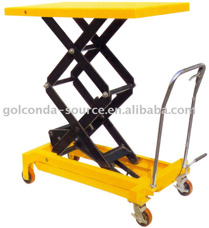 800 KGS MOBILE SCISSOR LIFT TABLE (GS-5961C)