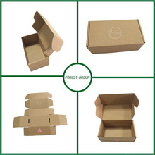 CUSTOM MADE STRONG CORRUGATED CUSTOM SHOE BOX WITH LOGO