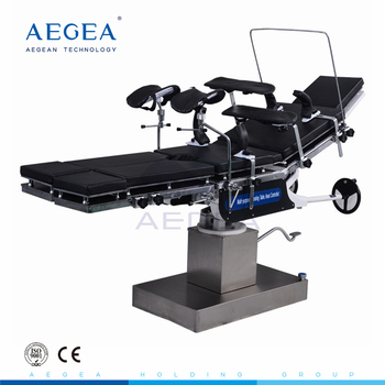 AG-OT013 stainless steel frame economical surgical operation table price
