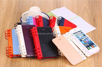 2014 ALIBABA CHINA CELL PHONE WALLET CASE FOR FOR WIKO PEAX