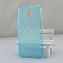 With Dust Plug Hole,For Samsung Galaxy S5 Mini Frosted Matte Back Cover Soft TPU Case