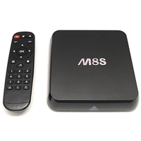 M8S 2G/ 8G Amlogic S812 Quad Core android 4.4 smart box tv