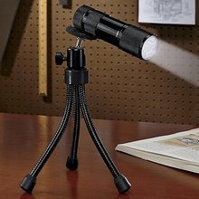 9 LED flexbile tripod flashlight
