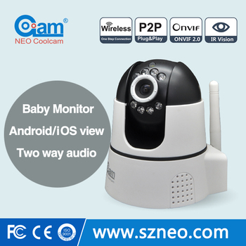 720P Wireless Pan/Tilt Indoor Portable wireless ip camera