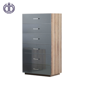 2018 Alibaba hotsale mirror jewelry cabinet drawer chest drawer cabinet