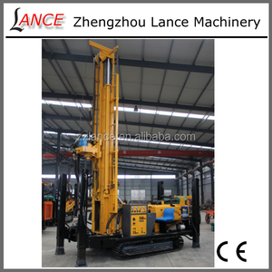 180m crawler borehole drilling machine / water well drilling rig price for sale
