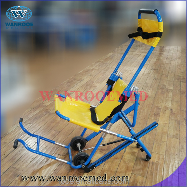 EA-6G evacuation chair with armrest and footrest