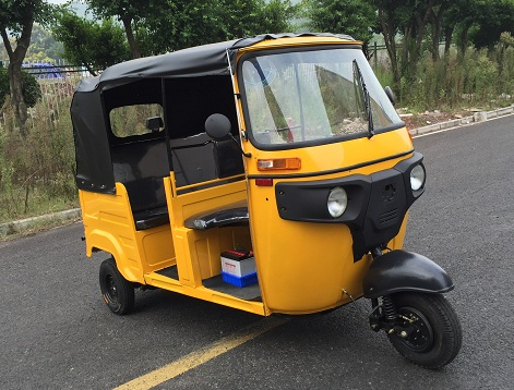 Hybrid Power Auto Vehicle Passenger Tricycle Hybrid Bajaj Tuk Tuk for Sale