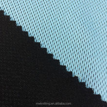 Tongxiang manufacture 100% polyester birdeye golf shirts Open Weave Stretch Fabric Netting Air Flow Mesh fabric