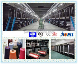 JWELL - POLYESTER BCF EXTRUSION LINE PET BCF YARN MAKING MACHINE
