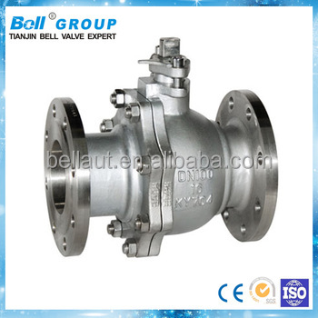 priority selected carbon steel flange type ball valve