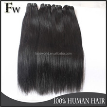 New arrival unprocessed wholesale peruvian virgin human hair bundles silky straight mink hair extension with free sample