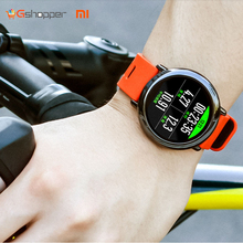 Silicone Watch Band Sport Watch 2017 Waterproof IP67 Xiaomi Amazfit Band In Black and Red