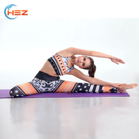 HSZ-YD46001 Latest Fashion Comfort Breathable Sexy Yoga Bra New Mix Clothing Tights Leggings Wholesale Sports Fitness Apparel