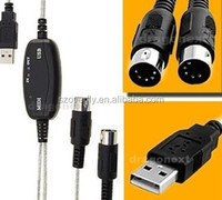 USB TO HDTV keyboard interface converter cable hdtv cable midi cable