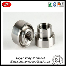 custom precision metal cnc lathe part , drawing of lathe machine part Passed ISO 9001