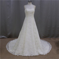 real pictures of bling lace mini skirt wedding dresses