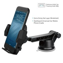 Apps2car Flexible Smartphone Stand for Desk Wall iOttie Easy One Touch 2 Silicon Suction Cup Mount Cell Mobile Phone Car Holder
