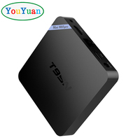 Android tv box T95N 2GB 8GB Amlogic S905X Quad Core 3D 4K HD Support 2.4G Wi-Fi Android 6.0 smart tv box free sample