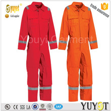 cheap wholesale orange reflective frc coverall